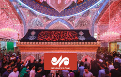 VIDEO: Imam Ali holy shrine in Najaf blanketed in black