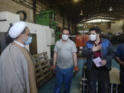 بازدید مدیرکل تبلیغات اسلامی آذربایجان شرقی از پیستون سازی ایران