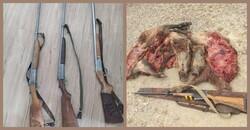 دستگیری ۱۰ شکارچی غیر مجاز طی هفته گذشته در ایلام