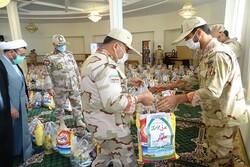 ۲۰۰ بسته کمک معیشتی توسط مرزبانی آذربایجان غربی توزیع شد