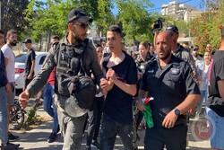 درگیری معترضان فلسطینی و نظامیان صهیونیستی در کرانه باختری و قدس