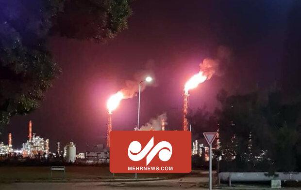 حیفا میں کیمیکل پلانٹ میں آتشزدگی