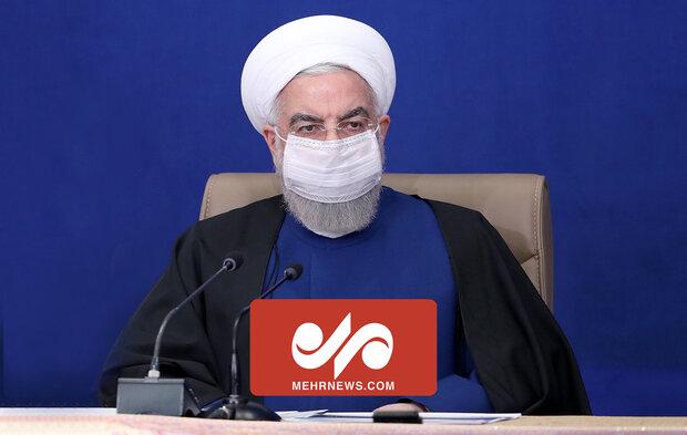 روحانی: واکسن سوهان قم نیست که فراوان باشد