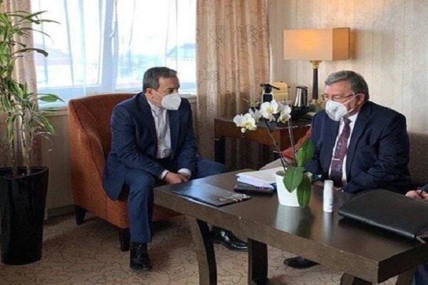 Iran, Russia review latest JCPOA developments in Vienna