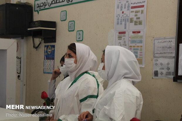 تسجيل 344 حالة وفاة جديدة بكورونا في إيران