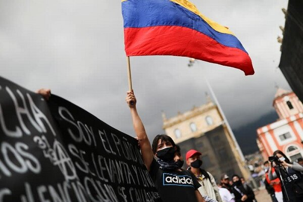 For 10 straight days Colombians hold protests