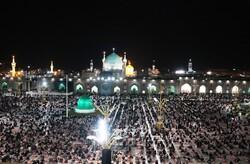 حرم رضوی میں رمضان المبارک کی 19 ویں شب اور  شب قدر کی مناسبت سے  دعا و مناجات