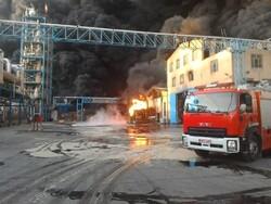 توضیحات سخنگوی آتش نشانی درباره حریق در کارخانه بهنوش