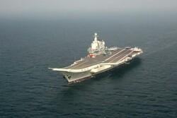 ناو هواپیمابر چین در دریای چین جنوبی رزمایش برگزار کرد