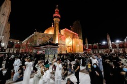 Night of decree in Imam Ali holy shrine