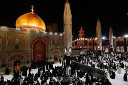 اجواء مرقد امام علي (ع) في ليلة 19 رمضان المبارك