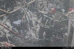إخماد حريق اندلع في الصناعة الكيميائية بمولدان قم