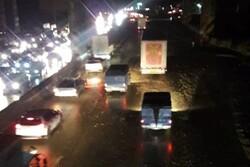 ترافیک نیمه سنگین در محور رفت و برگشت آدران- شهریار