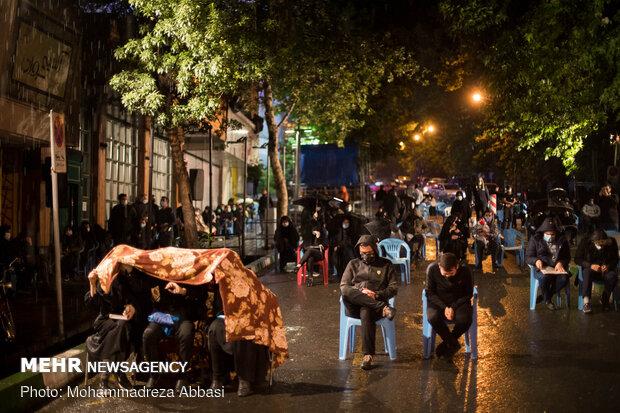 شب قدر نوزدهم ماه رمضان در هیأت ریحانة النبی(س)