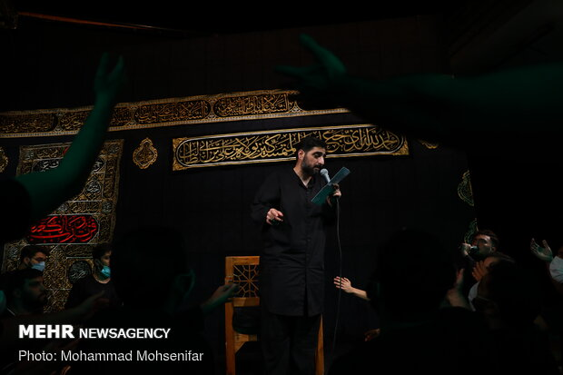 احياء ليلة 19 من رمضان الكريم في طهران