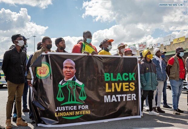South Africa in shock after US police kills sportsman