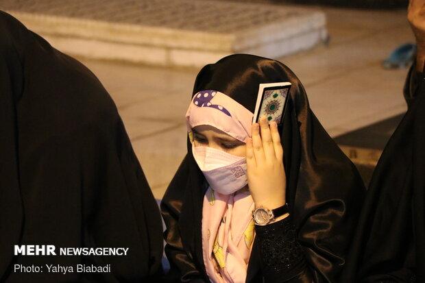 شهدا شفیع مردم دروازه نجف در شب قدر