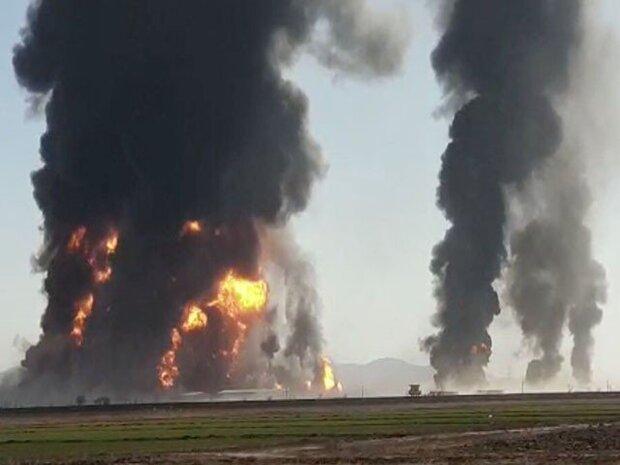 کابل میں ئل ٹینکرز میں لگنے والی آگ نے 12 افراد ہلاک