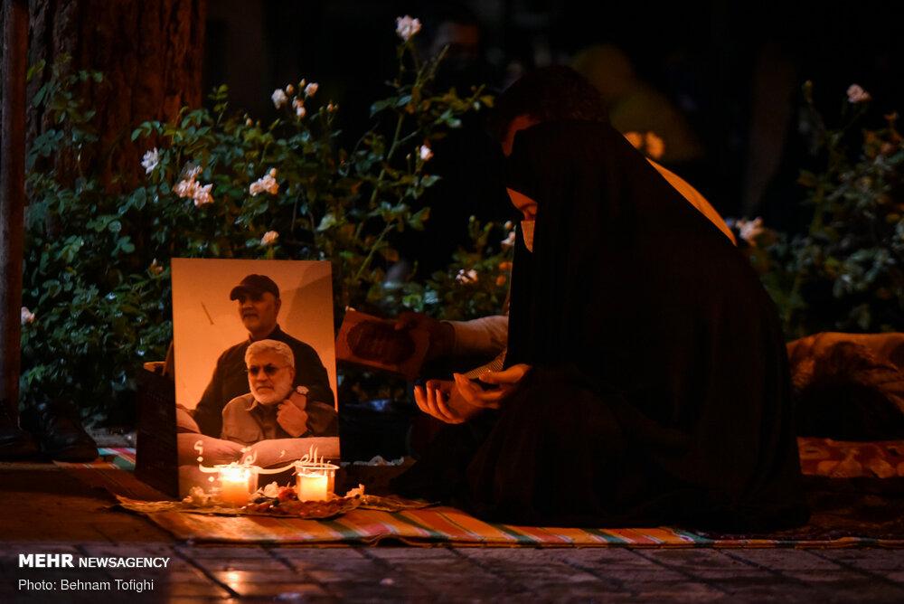 شب قدر نوزدهم ماه رمضان در گلزارشهدا