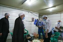 خدمات هیئت رزمندگان جهادی و در خدمت دین است