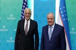 خلیلزاد با وزیر خارجه ازبکستان دیدار و گفتگو کرد