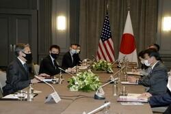 وزرای خارجه آمریکا و ژاپن دیدار و گفتگو کردند
