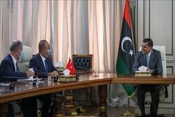 دیدار چاووشاوغلو و نخستوزیر لیبی