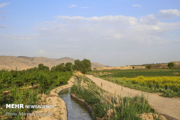 Spring in North Khorasan province