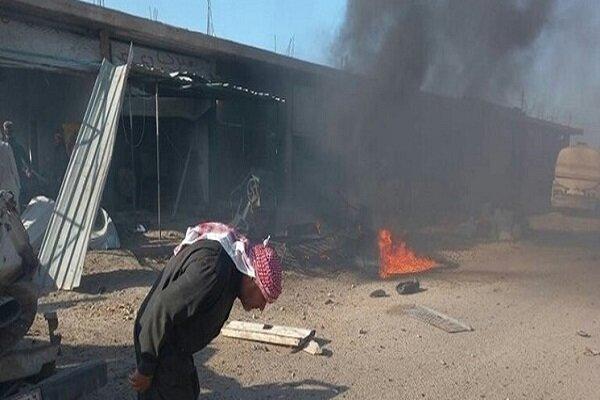 Motorcycle blast in N al-Raqqa leaves one dead