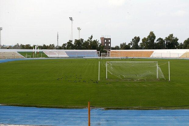 تکمیل روند بهینه سازی استادیوم شماره۱ المپیک کیش تا چند روز آینده