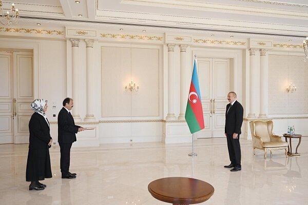 İlham Aliyev yeni Türk büyükelçisini kabul etti