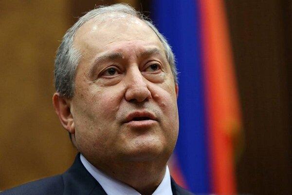 شکایت دادستانی کل ارمنستان از رئیس جمهور این کشور