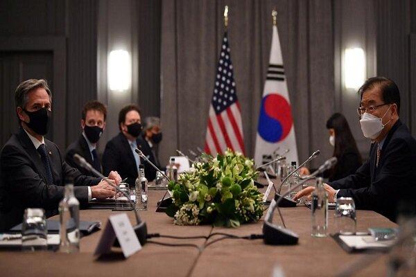 وزرای خارجه آمریکا و کره جنوبی با یکدیگر دیدار کردند