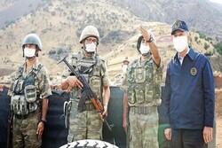 تداوم انتقادها از سفر وزیر دفاع ترکیه به شمال عراق