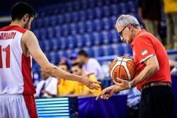سرمربی تیم بسکتبال جوانان: بازیکنانم مقابل صربستان کم آوردند