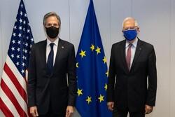 وزیر خارجه آمریکا و «جوزف بورل» درباره ایران رایزنی کردند