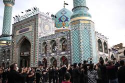 Tahran'da Hz. Ali (a.s) için matem merasimi