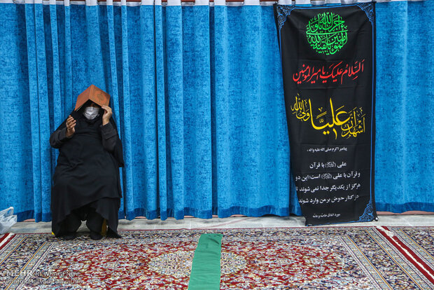 احیای شب بیست و یکم ماه رمضان در بجنورد