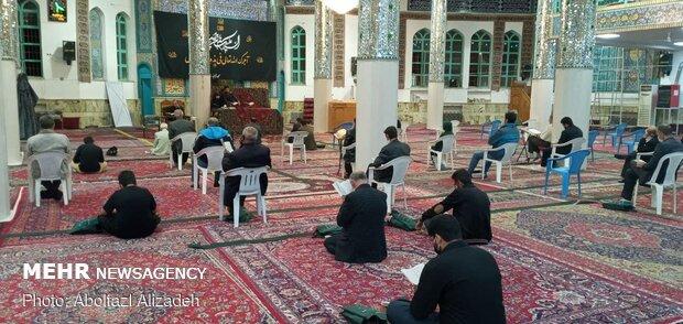 احیای شب بیست و یکم ماه رمضان در سمنان