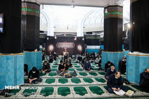 احیای شب بیست و یکم ماه رمضان در دانشگاه شریف