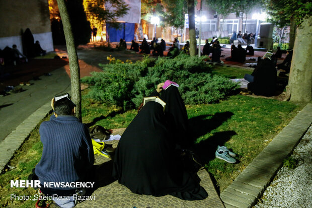 "Second ""Night of Qadr"" observed in Sharif University mosque"