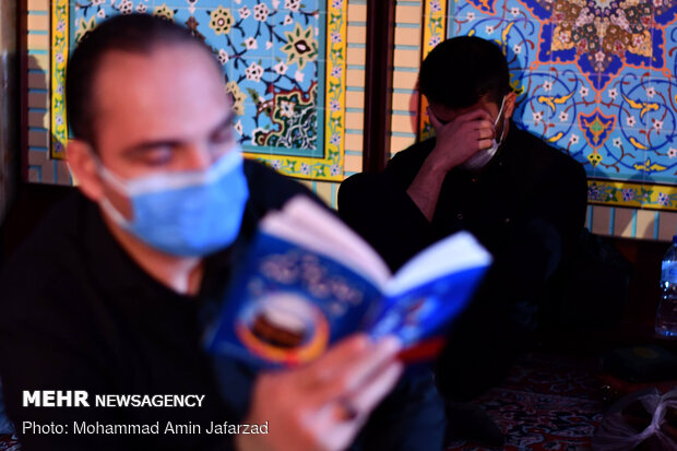Night of Qadr observed in Imamzadeh Ghazi Saber