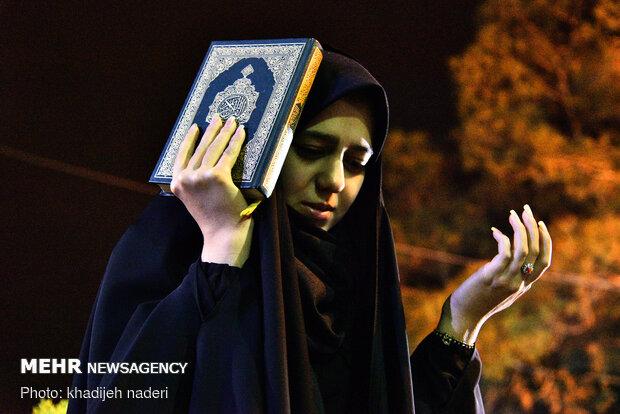احیای شب بیست و یکم ماه رمضان در اصفهان