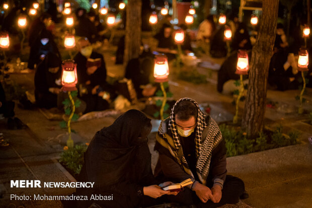 21th night of holy month of Ramadan marked in Behesht-e Zahra