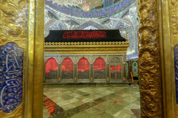حرم علوی اور مسجد کوفہ میں حضرت علی (ع) کی شہادت کی مناسبت سے عزاداری