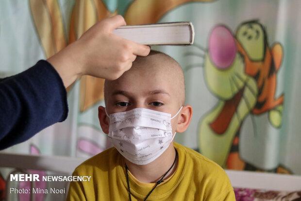 مراسم احیای شب بیست و یکم ماه رمضان در بیمارستان کودکان تبریز
