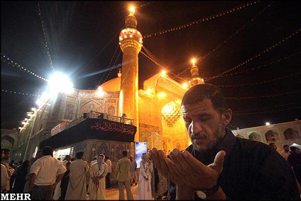 روایت عکاس ایرانی از اولین شب قدر حرم علی (ع) بعد از سقوط صدام