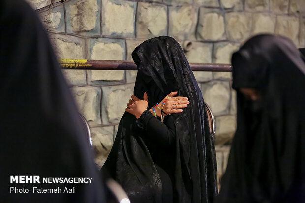 احیای شب بیست و یکم ماه رمضان در امامزاده قاضی الصابر (ع)