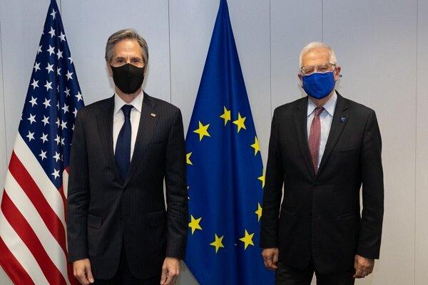 EU Borrell, US Blinken exchange views on ending Gaza conflict