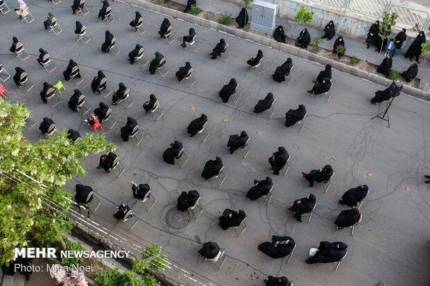 عزاداری و مراسم خیابانی به مناسبت شهادت حضرت علی(ع)